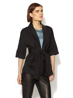 Belted Wrap Jacket by Vera Wang at Gilt