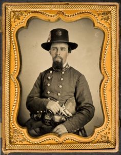 Title: [Lieutenant Colonel Julius A. Andrews, Confederate States Army]            Creator: Unknown  Date: ca. 1862  Part Of: Lawrence T. Jones III Texas photography collection  Physical Description: 1 photograph: quarter plate tintype, hand colored; 8.3 x 10.8 cm.         File: ag2008_0005_1_07_01_andrews_opt.jpg     Rights: Please cite DeGolyer Library, Southern Methodist University when using this file. A high-resolution version of this file may be obtained for a fee. For details see the…