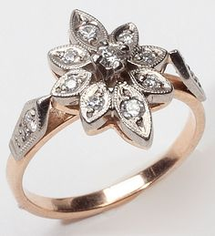 Russian Diamond Ring $421