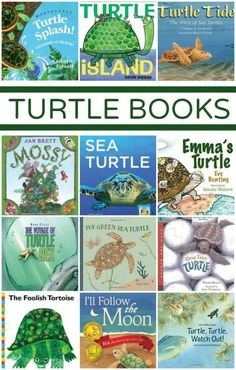 Turtle Books Fantastic Fun & Learning is part of Turtle book - Collection of turtle books great for preschoolers and early elementary students Includes fiction and nonfiction books to learn more about these gentle creatures Preschool Books, Book Activities, Preschool Activities, Preschool Kindergarten, Beach Activities, Fun Learning, Teaching Kids, Outdoor Learning, Turtle Classroom