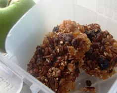 Easy school lunch muesli bars recipe - Cakes & Baking