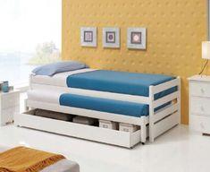 Kompaktbett aus Holz : Modell ROMA