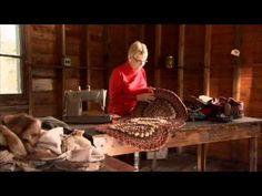 ▶ Adirondack Rug Braiding with Helen Condon - YouTube