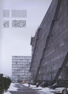 gifu kitagata apartments , gifu, japan (1994-2000) kazuyo sejima & associates