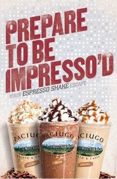 Espresso Shakes-Spring 2013