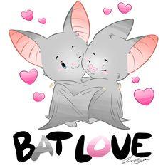 Bat Love by Peamimo3.deviantart.com on @DeviantArt