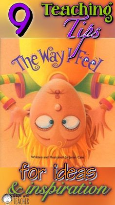 The Way I Feel is such a great book to get those feelings out in the open. It is a great conversation starter with students. Use these teaching tips, ideas and activities to help build a meaningful lesson. This is great for the beginning of the year and anytime in between. #PictureBooks #TheWayIFeel #FirstWeekofSchool