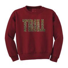 Trill Sweatshirt Dope Swag ASAP YMCMB XO Hiphop Sweater Leopard Print New   eBay