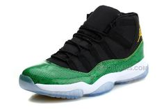 f9dd2d391a51b3 Buy 2015 Hot Sale Official Air Jordan Shoes 11 High State Green Snakeskin Black  Nightshade White Volt Ice from Reliable 2015 Hot Sale Official Air Jordan  ...
