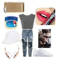 """""""trill vill"""" by morelikedahdahdendohdoh on Polyvore featuring One Teaspoon, NIKE, Fiebiger, Talbots, Frends, Rebecca Minkoff, women's clothing, women, female and woman"""