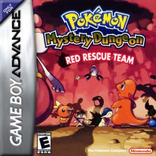 Pokemon Mystery Dungeon - Red Rescue Team Nintendo Game Boy Advance cover artwork