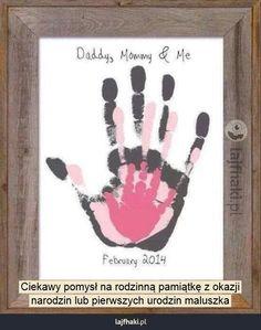 Pamiątka rodzinna - Ciekawy pomysł na rodzinną pamiątkę z okazji narodzin lub pierwszych urodzin maluszka