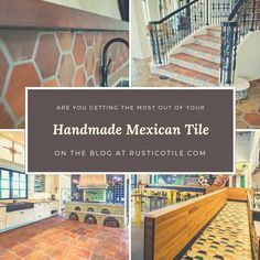Learn how to get the most of your Mexican tile in your Spanish style home. From form to function, we look at ways to make this work for you to create a space that is to be envied by others! #rusticotile #mexicantile #SpanishStyle #homedecor #interiors #interiordesignideas #flooring  #decoratingideas #rusticdecor #Saltillo #cement #cantera