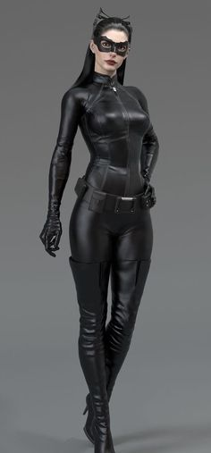 Anne Hathaway pkays Catwoman in The Dark Knight Rises. One day I will have the perfect Catwoman costume. Catwoman Cosplay, Cosplay Gatúbela, Cosplay Girls, Catwoman Suit, Halloween Cosplay, Anne Hathaway Catwoman, Anne Jacqueline Hathaway, Pvc Fashion, Bd Comics