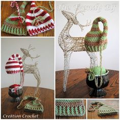 FREE crochet hat pattern- the trendy elf.  Once piece construction... with only two tails to weave in at the end.