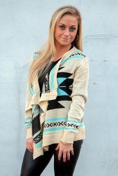 TRIBAL SWEATER - In Stock at Online Boutique Shop Ora $34.00 www.shoporas.com