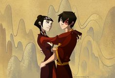 Zuko and Mai - The Last Airbender Mai And Zuko, Prince Zuko, Team Avatar, Fire Nation, Air Bender, Legend Of Korra, Aang, Avatar The Last Airbender, Cartoons