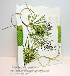 Welcome to the Curtain Call Inspiration Challenge! Before we get to the main attraction.we have a BIG Announcement to make. Christmas And New Year, Christmas Cards, White Paint Pen, Christmas Challenge, Curtain Call, Peace On Earth, Card Sketches, Winter Holidays, Stampin Up Cards
