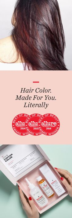 """Rethink your hair color routine: """"It was the exact hair color I was looking for...That in between color that you just can't get from store bought colors and can't get (afford) every month at the salon!"""