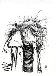 Harry Potter Mad Eye Moody Sketch from Skottie Young - News - GeekTyrant