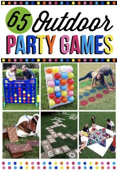 Outdoor Games For Entire Family - The Dating Divas - Party Outdoor Graduation Parties, Graduation Party Planning, College Graduation Parties, Graduation Party Decor, Kindergarten Graduation, Outdoor Birthday, Grad Parties, Graduation Party Ideas High School, Kindergarten Party