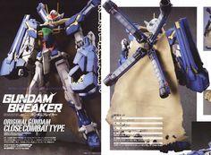 GUNDAM GUY: Gundam Breaker: 1/100 Original Gundam Close Combat Type - Custom Build [Updated 11/6/13]