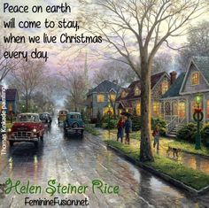 Helen Steiner Rice Quote ~ Christmas