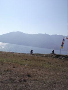 #paragliding #podróże #Pokhara #paralotnia #jezioro #Phew