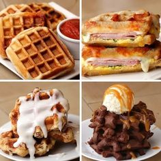 Here's The Ultimate Menu For Waffle Lovers