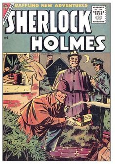 A facsimile reprint of the very first issue of Sherlock Holmes Comics, a short-lived attempt to move the Sherlock Holmes stories into comics format. Originally released by Charlton Comics in October 1