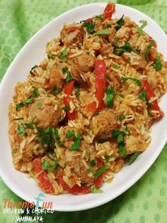 · 60 inceleme · kişilik · If you've had jambalaya before then you need to try this recipe - if your new to jambalaya then you need to try this thermomix chicken & chorizo jambalaya Chicken Recipes Thermomix, Thermomix Recipes Healthy, Chicken Thigh Recipes, Cooking Recipes, Meal Recipes, Healthy Food, Chicken Risotto, Chicken Chorizo, Easy Chicken Curry