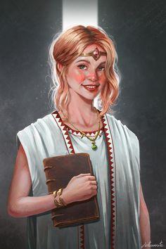ArtStation - Young Priestess , Toni Justamante Jacobs