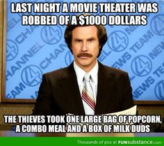 Pretty much how movie theaters work