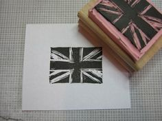 Union Jack Stamp ~ would love one of these