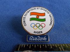 2016 Rio Olympic NOC Pin Niger Dated
