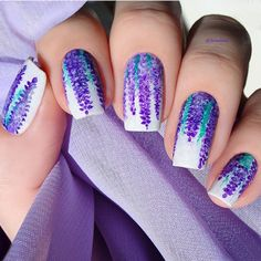 piCture pOlish = Artist: Lessient wearing LakoDom + Enchanting + Violet Femme for PP Nail Art Quarterly 1/2015 event thx Olga! www.picturepolish.com.au