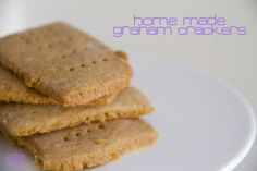 a little delightful: home made graham crackers