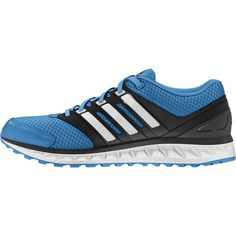 Let your feet breathe in these men's running shoes. They feature a sandwich mesh upper, lightweight LITESTRIKE EVA cushioning and synthetic overlays for support.