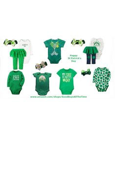 Good Buys All The Time is your 1 Stop Place to Shop for St Patrick's Day Outfits for your Little Leprechaun