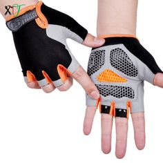 Anti-slip Anti-sweat Breathable Half Finger Cycling Gloves, free shipping option to most countries worldwide. For best shopping experience visit us, trainedtools.com Gym Gloves, Bike Gloves, Workout Gloves, Cycling Gloves, Mens Gloves, Finger, Weight Lifting Gloves, Winter Cycling, Cycling Outfit
