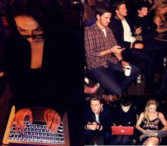 The cast live tweeting during the OUAT Season 3 Premiere Party (September 29, 2013)