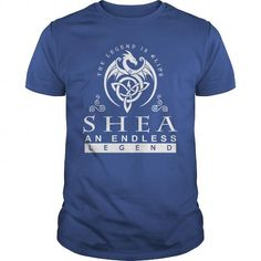 Awesome Tee SHEA The Legend is Alive an Endless Legend T-Shirts
