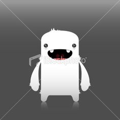 snow creature | Stock Illustration | iStock