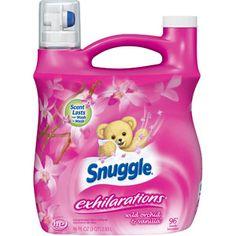 Snuggle Exhilarations Liquid Fabric Softener, Wild Orchid & Vanilla Kiss, 96 oz