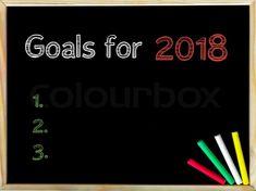 Resultado de imagen de 2018 NEW GOALS