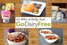 dairy and gluten free recipe listing