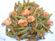 Green Beans and Shrimp Recipe - ThaiTable.com