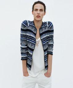 Aymeline Valade Dons Boyish Attire for Zaras June 2012 Lookbook