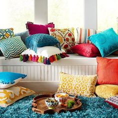 Style Tip: why not introduce your pops of colour through your soft furnishings...it's more cost effective and can save a lot of hassle and time when you decide you want a change... Image from @pier1 #regram #pillows #colour #softfurnishings #beauty #artistic #interiors #interiordesign #interiorstyle #interiordecorating #interiorstyling #interiorarchitecture #interiordesignideas #interiordetails #interiorforinspo #architecture #love #design #interiors #archilovers  by lonwing