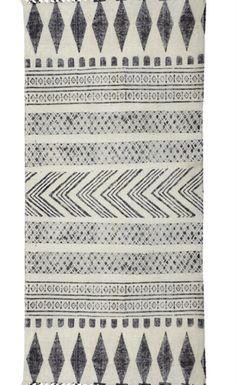 Lækre håndvævede tæpper i vintage-look